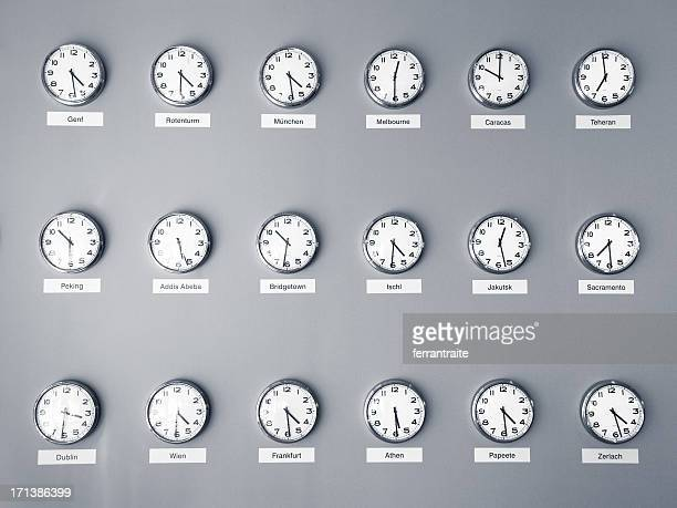 time zones - clock stock pictures, royalty-free photos & images