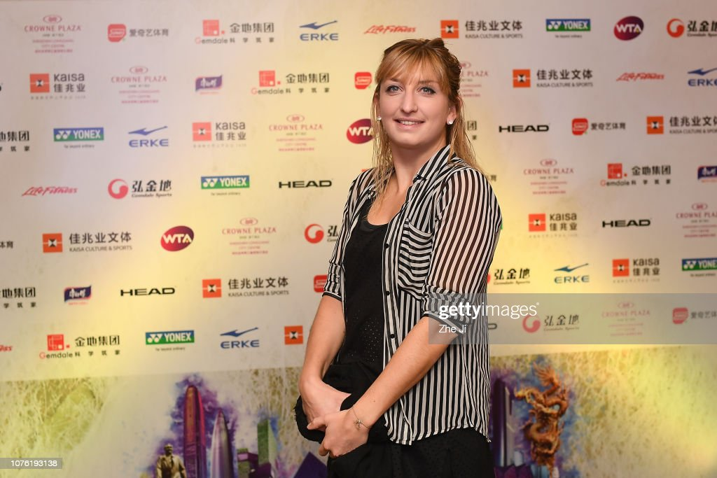 2019 WTA Shenzhen Open - Main Draw Day 2 : News Photo