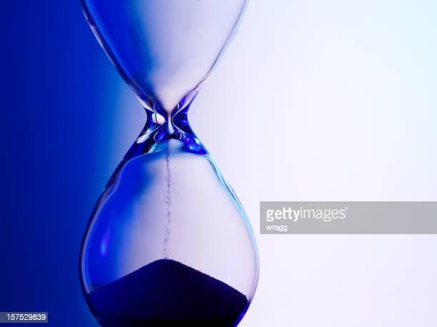 Caducado reloj de arena