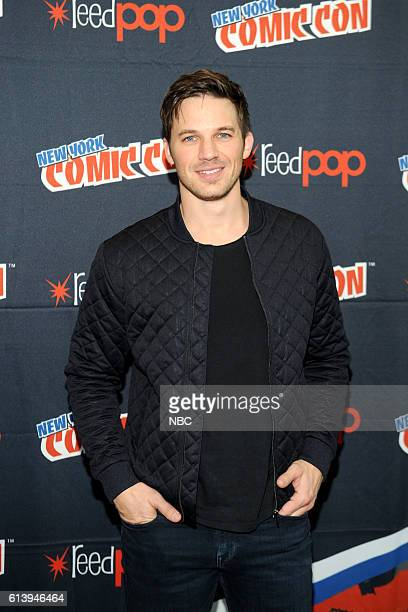 CON 2016 Timeless Press Room Pictured Matt Lanter on Sunday October 9 2016 from the Javits Center in New York NY