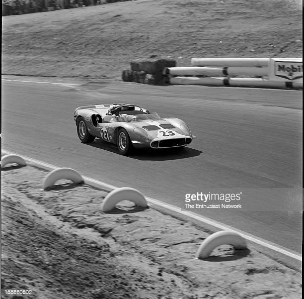 Times Grand Prix Riverside AJ Foyt driving his Dodge powered Hussein 1