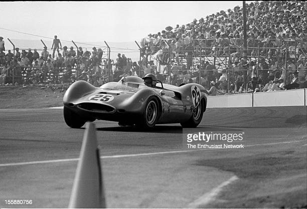 Times Grand Prix Riverside Augie Pabst drives the Chevrolet powered Huffaker Genie MK10