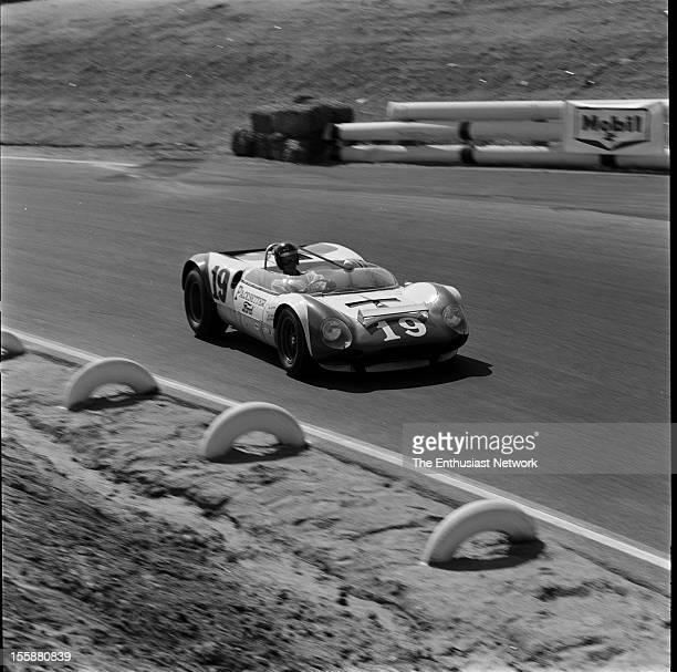 Times Grand Prix Riverside Dan Gurney driving his Ford powered Lotus 19B