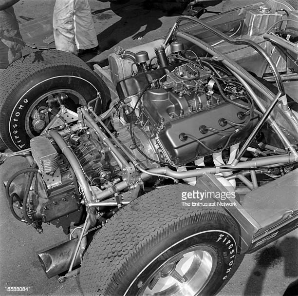 Times Grand Prix Riverside The Dodge power planet out of AJ Foyt's Hussein 1
