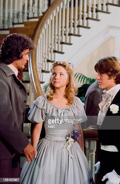 PRAIRIE Times of Change Episode 2 Aired Pictured Michael Landon as Charles Philip Ingalls Melissa Sue Anderson as Mary Ingalls Kendall Radames Pera...