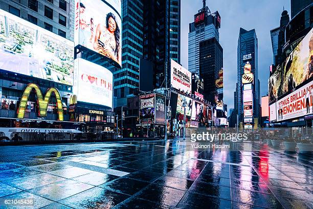 Times Square after the Rain