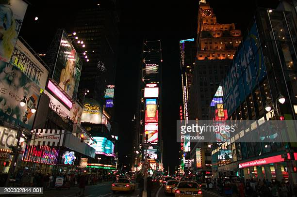 Times Square at night, New York