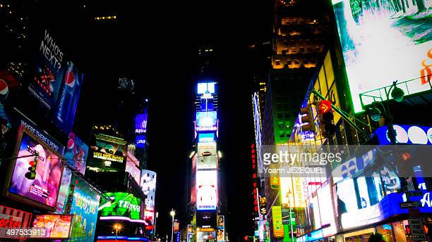 CONTENT] Times Square by night New York City
