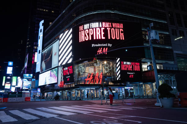 NY: H&M x Buy From A Black Woman Times Square Billboard