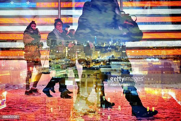 Times Square - Harlem Mash Up