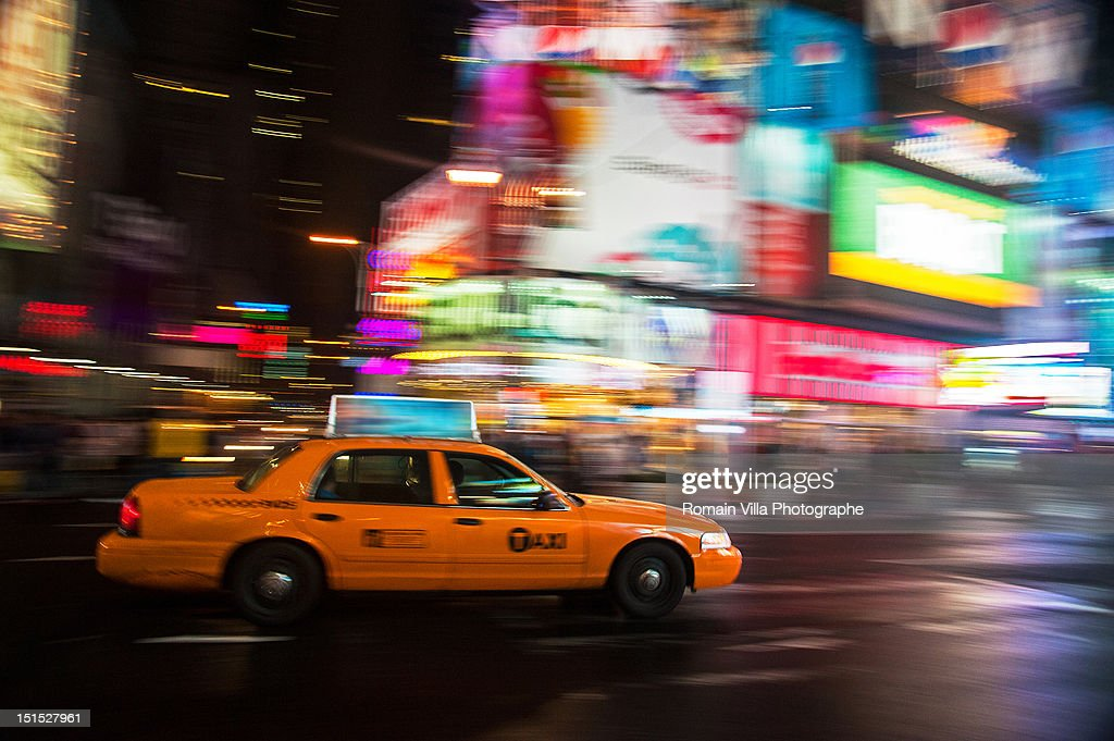Times Square in Manhattan : Stock Photo