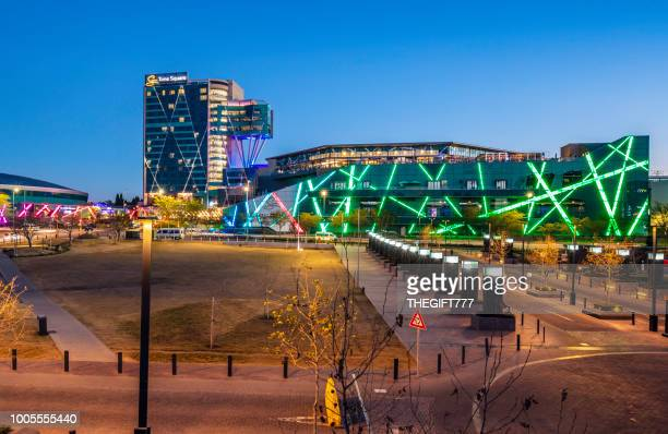 times square in menlyn park, pretoria - pretoria stock pictures, royalty-free photos & images