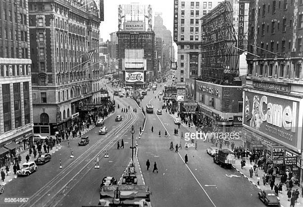 Times square in New York 1941