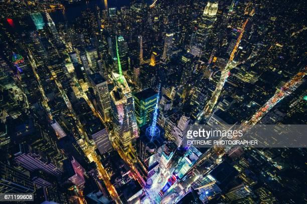 times square in new york city - times square manhattan stock-fotos und bilder