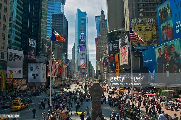 Times Square, looking south from 47th Street