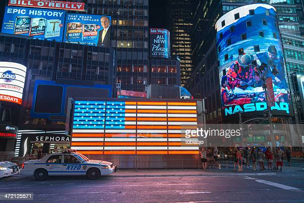 Times Square Manhattan at night