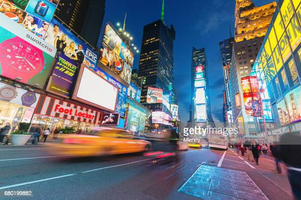 Times Square New York City Taxi Traffic