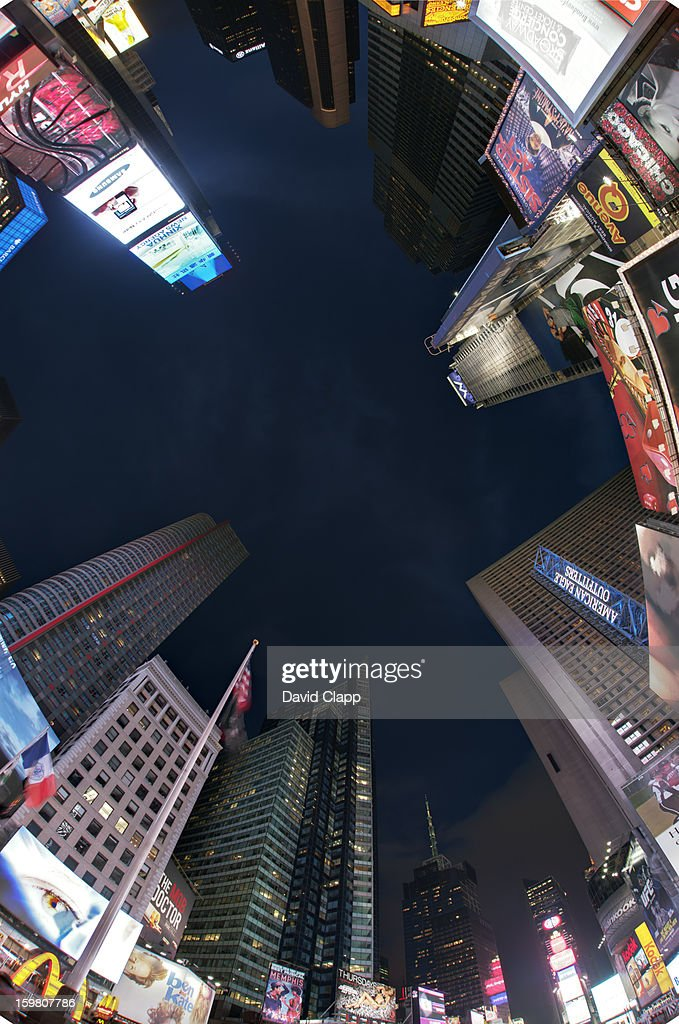 Times Square, New York : Foto de stock