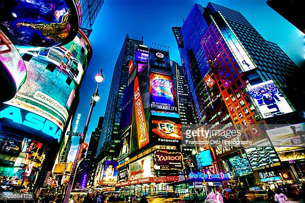 times square, nyc - times square manhattan stock pictures, royalty-free photos & images