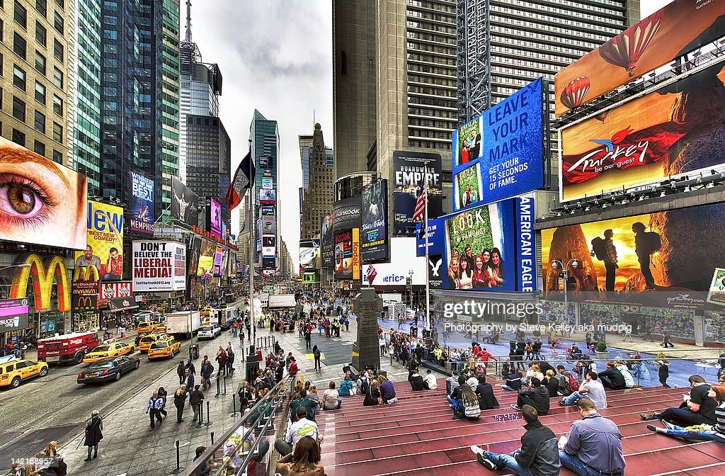 Times square : Stock Photo