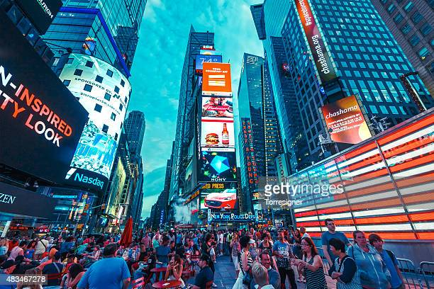 times square - times square manhattan stock pictures, royalty-free photos & images