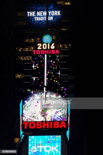 times square - times square ball stock photos and pictures