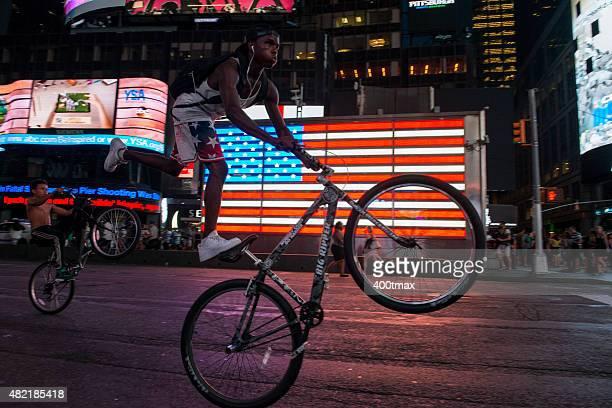 Times Square Wheelies