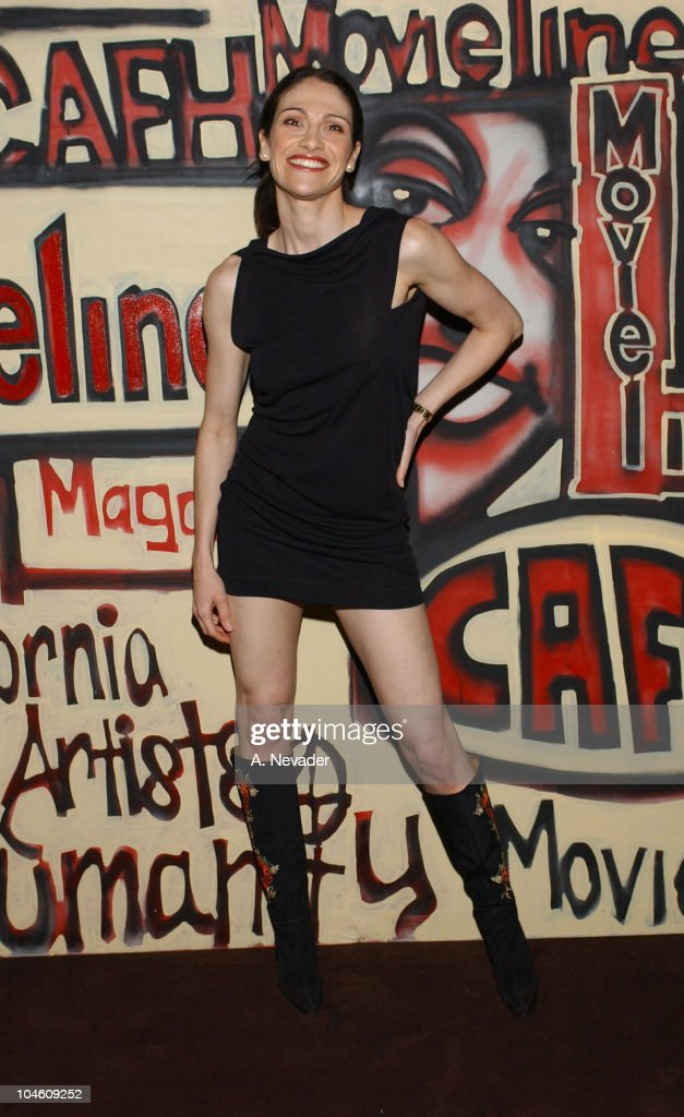 Timilee Romolini during Movieline Magazine and California Artists for Humanity at Nacional in Los Angeles, California, United States.