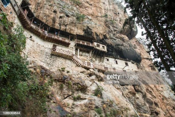 timiou prodromou monastery, arcadia, peloponesse,  greece - greek easter stock pictures, royalty-free photos & images