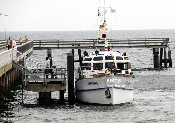 Timmendorfer Strand SchleswigHolstein Deutschland Ostsee Europa Steg Meer Schiff MS Seelöwe Reise AS DIG PNr 469/2013