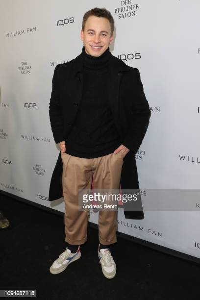 Timmi Trinks attends the William Fan Defile during 'Der Berliner Salon' Autumn/Winter 2019 at Knutschfleck on January 15 2019 in Berlin Germany