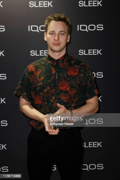 Timmi Trinks during the Sleek X IQOS Valentines Party at Claerchens Ballhaus on February 14 2019 in Berlin Germany