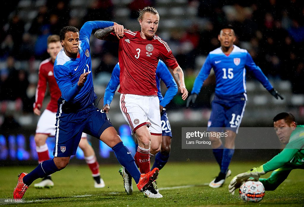 Denmark vs United States - International Friendly : News Photo