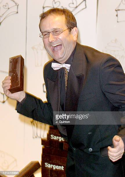 Timmy Mallet during The Chocolate Ball In Aid Of Sargent's Cancer Care at The Dorchester Hotel in London Great Britain