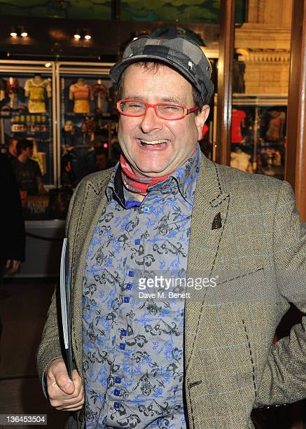 Timmy Mallett attend the 'Cirque du Soleil Totem Premiere' at the Royal Albert Hall on January 5 2012 in London England