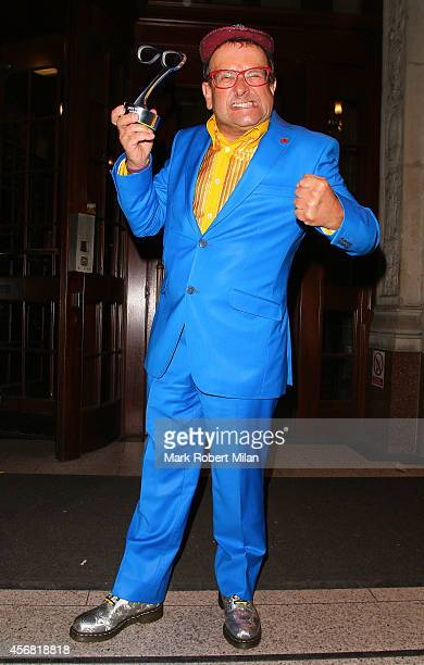 Timmy Mallett attending the Specsavers Spectacle Wearer of the Year awards 2014 on October 7 2014 in London England