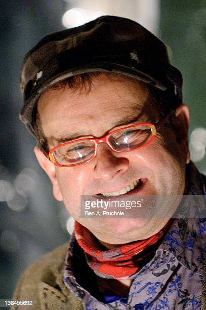 Timmy Mallett attends the Cirque du Soleil Totem Premiere at Royal Albert Hall on January 5 2012 in London England