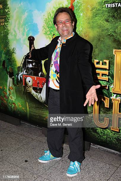Timmy Mallett attends the reopening of 'The Railway Children' at Waterloo Station on June 28 2011 in London England