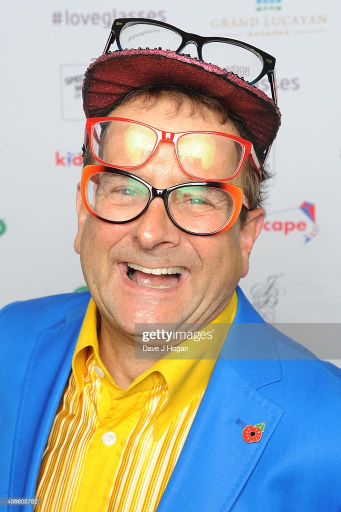 Timmy Mallett attends the Spectacle Wearer Of the year Awards at 8 Northumberland Avenue on October 7, 2014 in London, England.