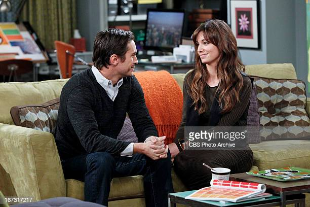 """Timmy Quits """" Pictured Oliver Hudson and Bianca Kajlich Jeff tries to prove to Audrey that Heidi a college friend never had feelings for him however..."""