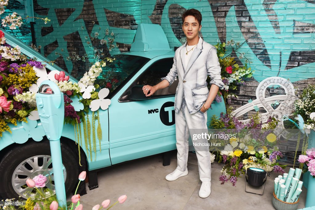 Timmy xu attends the tiffany co paper flowers event and believe paper flowers event and believe in dreams campaign launch news photo mightylinksfo
