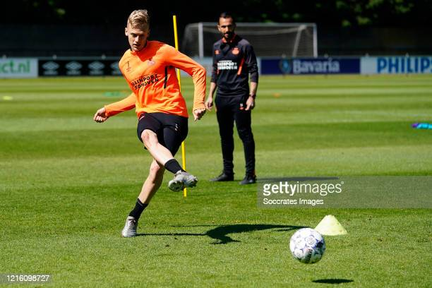 Timo Baumgartl of PSV during the Training PSV at the PSV Campus De Herdgang on May 29 2020 in Eindhoven Netherlands