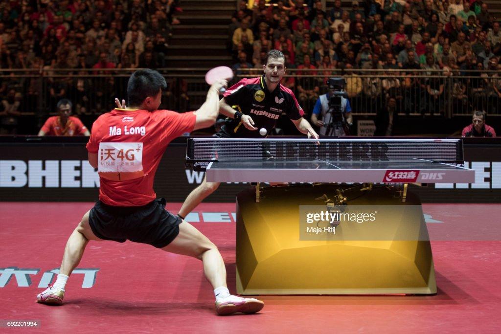 Table Tennis World Championship - Day 7 : News Photo