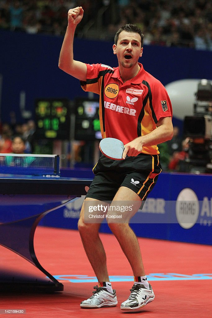 LIEBHERR Table Tennis Team World Cup 2012 - Day 7 : News Photo