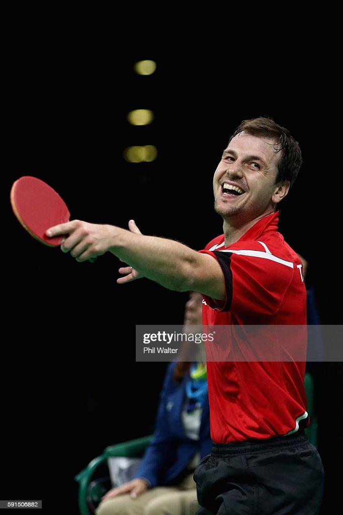 Table Tennis - Olympics: Day 12 : Nachrichtenfoto