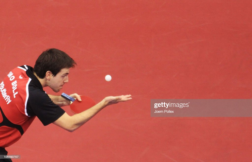 Table Tennis World Cup - Day 3 : News Photo