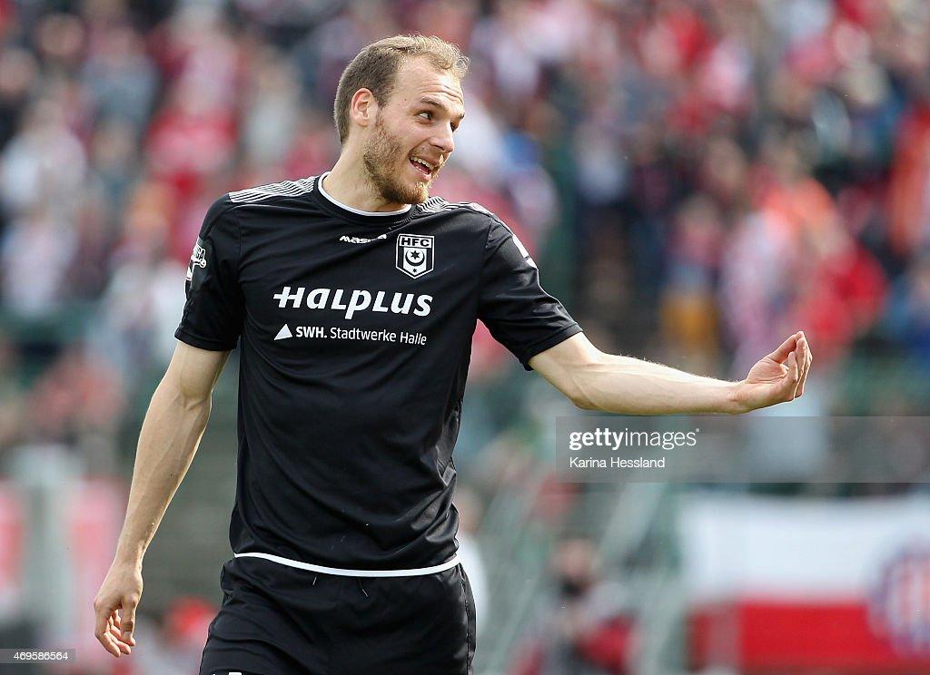 RW Erfurt v Hallescher FC  - 3. Liga : News Photo