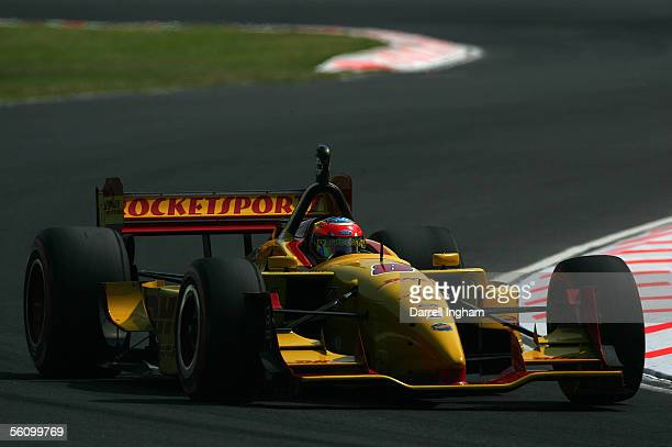 Timo Glock aboard the DHL Rocketsports Lola Ford Cosworth during practice for the ChampCar World Series Gran Premio TelmexTecate on November 5 2005...
