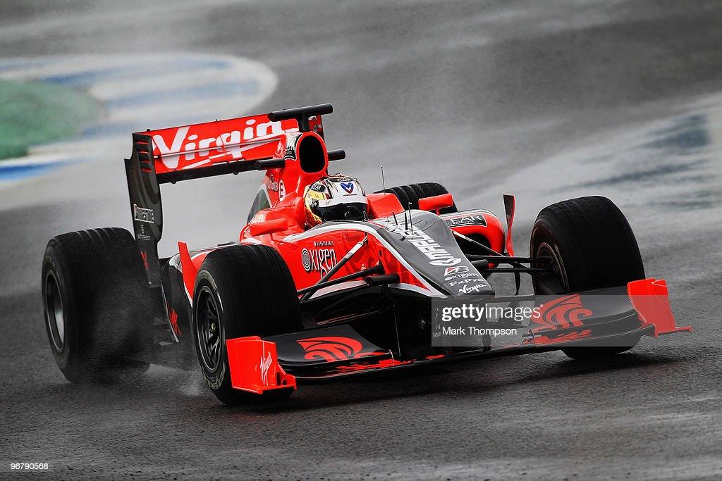 F1 Testing - Day One : News Photo