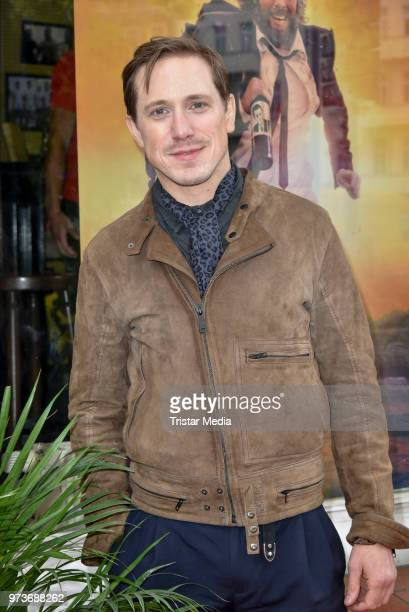 Timo Jacobs attends the film preview of 'Der Sportpenner' on June 13 2018 in Berlin Germany